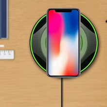 цена на 5W 7.5W Fast Wireless Charger Wireless Mobile Power Charger Black Green Outdoor Tool AS99