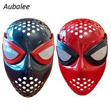 Новый красные черные паука человек faceshell с линзами для Человек