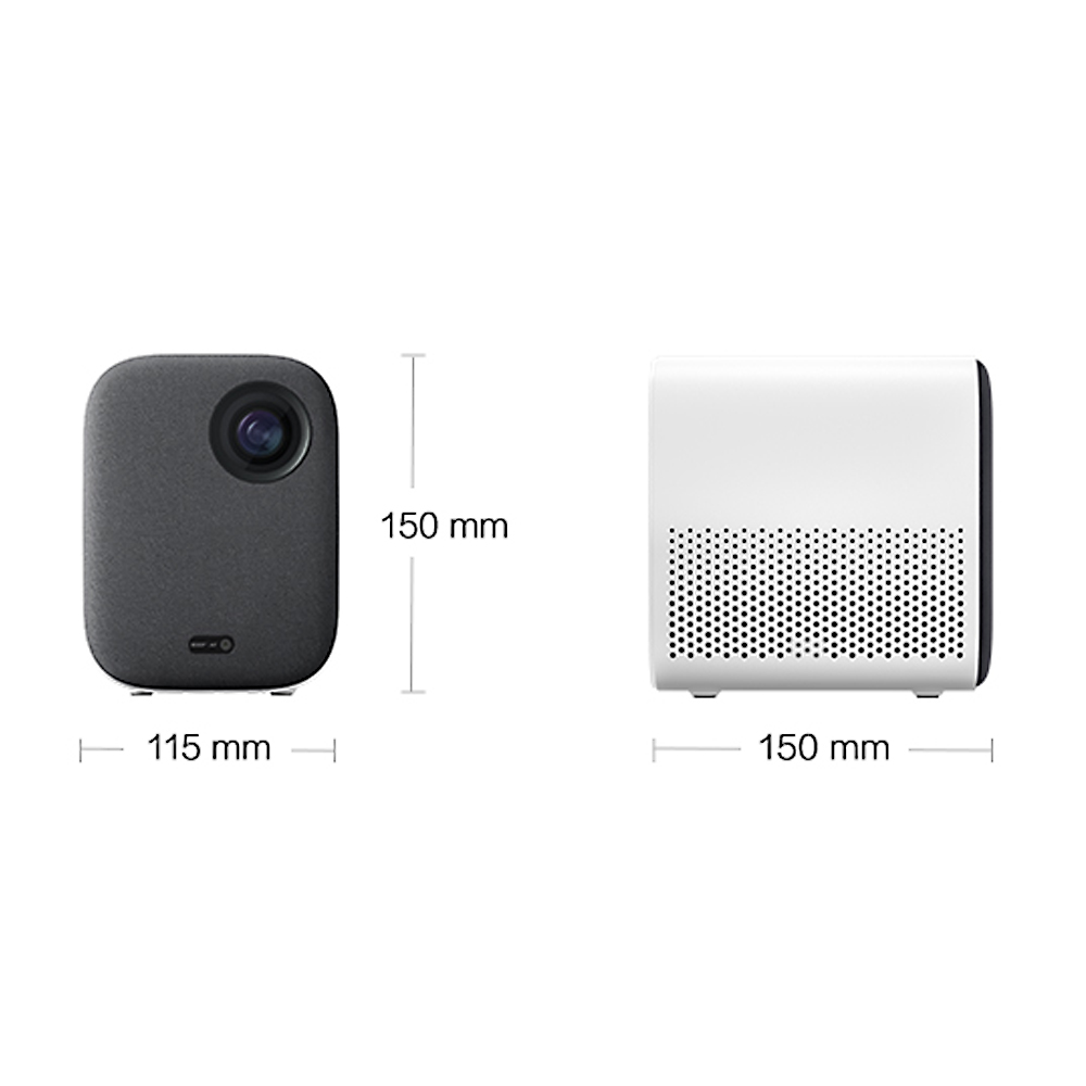 Image 3 - Xiaomi Mijia DLP Projector 1080P 4K Video 500ANSI Lumens Mount Projection HDR10 2.4G 5G WiFi 2GB+8GB Portable Projector for HomeSmart Remote Control   -