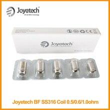 オリジナルjoyetech自我aio bf SS316アトマイザーヘッドコイル0.5/1.0/0.6ohmタンクコアcubis/立方体ミニキットeタバコ