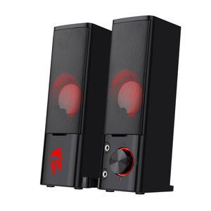 Image 1 - Redragon GS550 Orpheus gry komputerowe głośniki, 2.0 kanałowy stereofoniczny komputer stacjonarny Sound Bar z kompaktowym zwrotnym rozmiarem