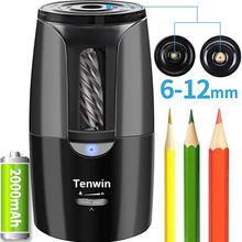 Tenwin duża automatyczna elektryczna temperówka do ołówków Heavy Duty papiernicze do kolorowych ołówków mechaniczne USB dla dzieci artystów tanie tanio CN (pochodzenie) 8028