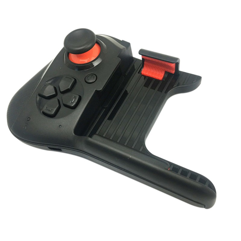 Portable Non-slip One-hand Wireless Bluetooth Joystick Gamepad Controller For Android / IOS Mobile Phone Game Accessories