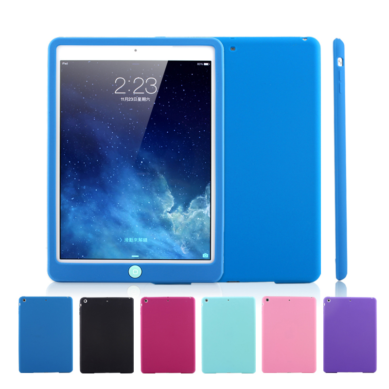 Kids Drop Resistance Silicone Case For  IPad Mini 5/4/3/2/1 Rugged ShockProof Soft Bumper Cover For 2019 IPad 7.9 Inch Tablet