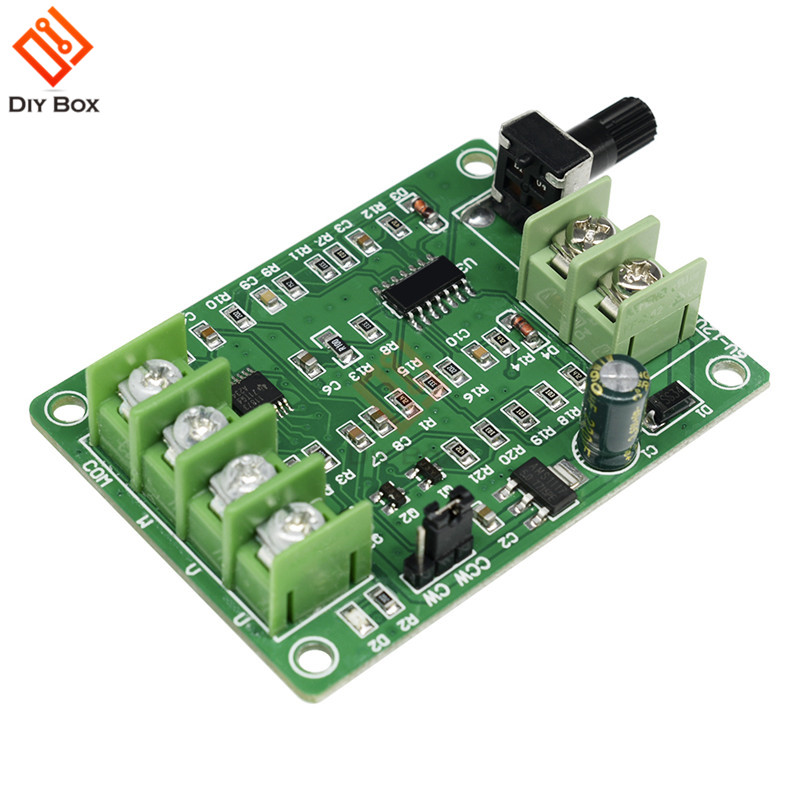 <font><b>5V</b></font>-<font><b>12V</b></font> <font><b>DC</b></font> <font><b>Brushless</b></font> Motor <font><b>Driver</b></font> <font><b>Board</b></font> Controller For Hard Drive Motor 3/4 Wire With Reverse Voltage Over Current Protection image
