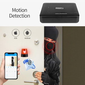 Image 2 - MISECU H.265 Mini NVR Full HD real P2P 16CH/8CH 5MP 16CH 1080P Video Recorder Motion Detect ONVIF For IP Camera Security System