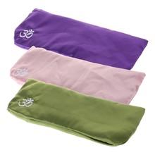 Шелковая подушка для глаз для йоги, Лавандовая Массажная маска для ароматерапии