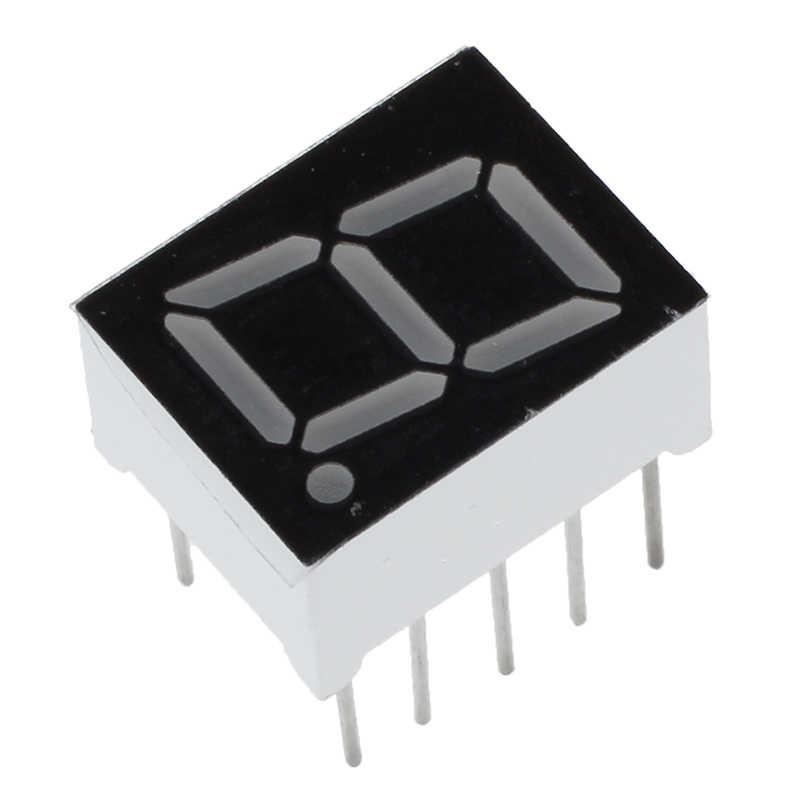 "10 Pcs Gemeenschappelijke Kathode 10 Pin 1 Bit 7 Segment 0.39 ""Rode Led Digital Tube"
