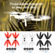 For DJI Mavic Mini /Mini 2 Drone Three blade Propeller Light Weight Props Blade Replacement Wing Fans Spare Parts Accessories