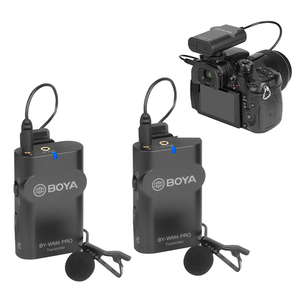 Image 2 - BOYA BY WM4 Pro K2 K1 Phone Wireless Lav Microphone Video Audio Lavalier Mic for DSLR Camera DV Smartphone Vlog Live Streaming
