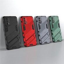 עבור Realme GT מקרה 8 פרו 7 Narzo 30 5G X7 מקס Q3 Q3i C15 V15 V13 כיסוי מחזיק שריון פגוש מגן מקרי טלפון Realme GT Neo