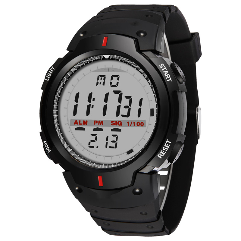 Watches Outdoor Electronic-Watch Digital Military Multifunction Sports Men Fashion New
