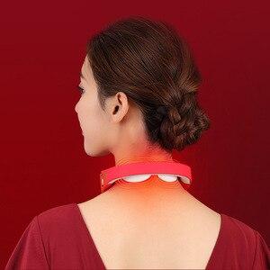 Image 3 - Masajeador eléctrico inteligente para cuello y hombros, herramienta para aliviar el dolor, relajación para el cuidado de la salud, fisioterapia de vértebra Cervical