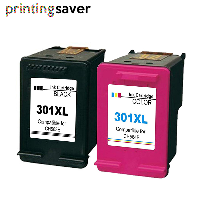 301XL Ink Cartridge Compatible For Hp 301 Xl Hp301 Ink Cartridge For Hp Envy 4500 Deskjet 2630 2540 2510 1000 1050 Printer
