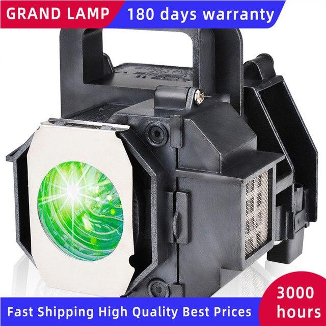 גרנד הנורה מנורת מקרן תואם עבור EPSON ELPLP49 EH TW3600 PowerLite HC 8350 EH TW3200 עם דיור