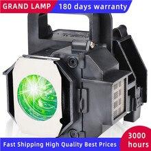 GRAND kompatybilny żarówki lampy projektora dla EPSON ELPLP49 EH TW3600 PowerLite HC 8350 EH TW3200 z obudową