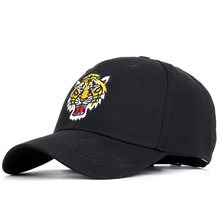 цены new 2019 Big Tigers embroidered baseball caps for men and women in spring and summer.