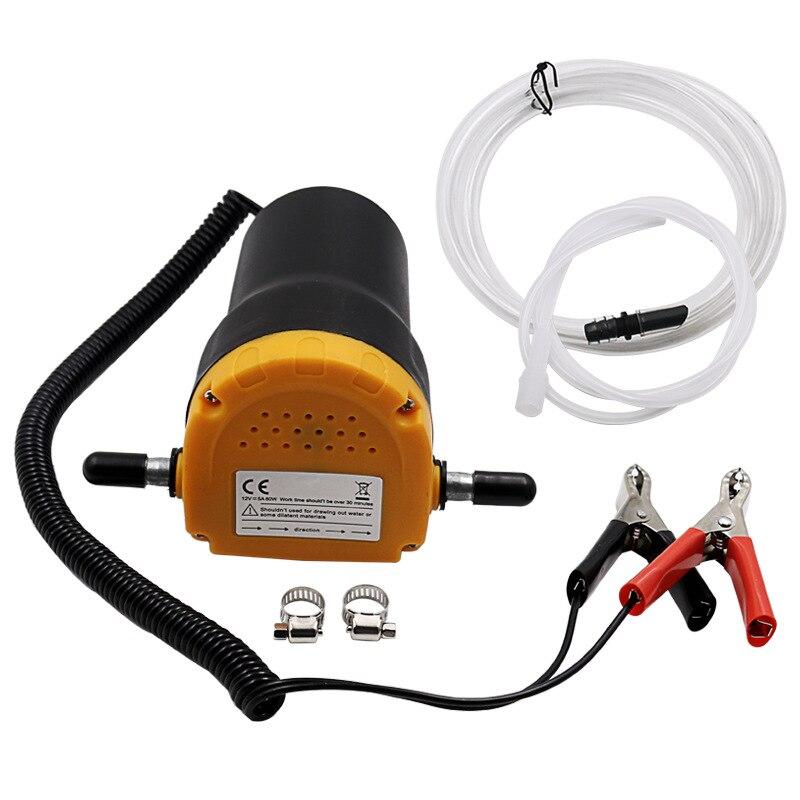 12V 60W olej/ropa naftowa pompa olejowa wymiana pozostałości pompa transferowa pompa ssąca + rury do Auto Car Boat Mot|Pompy paliwowe|   -
