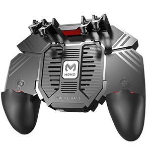 Image 5 - AK77 шесть пальцев PUBG мобильный джойстик игровой контроллер игровой коврик триггер стрельба геймпад USB зарядка Джойстики для PUBG