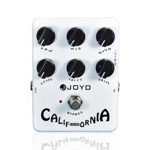 цена на Joyo JF-15 California Sound Distortion Guitar Effect Pedal True Bypass