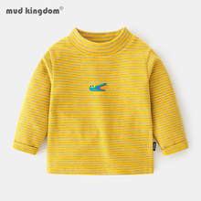 Kids Sweatshirts Striped Pullover Boys Children Clothing Dinosaur Long-Sleeve Fashion
