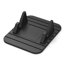 Portable Car Holder Support For Mobile Phone GPS Silicone Soft Anti-Slip Mat Desk Stand Anti-Skid Anti-Drop Phone Car Bracket car supplies mobile phone anti skid pad silicone pu round anti skid pad for mobile phones keys glasses car gadget other