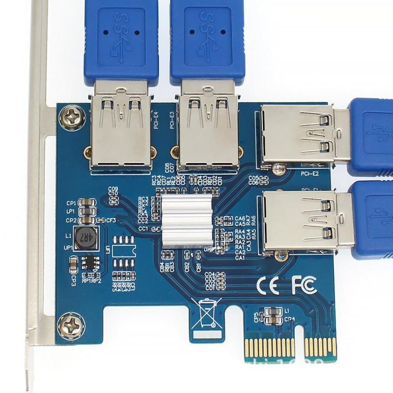 4 порта USB 3,0 расширения PCI-e карта PCI express PCIe USB 3,0 hub адаптер 4-портовый USB3.0 контроллер USB 3,0 PCI e PCIe PCI express 1x