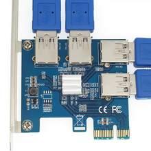 4 portas usb 3.0 pci-e placa de expansão pci express pcie usb 3.0 hub adaptador 4-port usb3.0 controlador usb 3.0 pci e pcie express 1x
