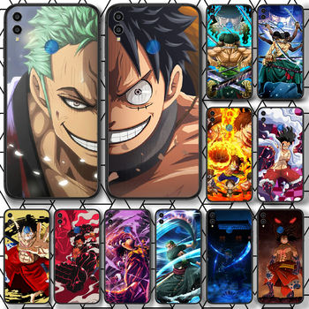 One Piece Luffy Sauron Phone case For Huawei Honor 6A 7A 7C 8 8A 8X 9 9X 10 10i 20 Lite Pro Play black hoesjes painting funda image