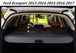 High quality Car Rear Trunk Security Shield Cargo Cover For 13-17 Ford Ecosport 2013.2014.2015.2016.2017