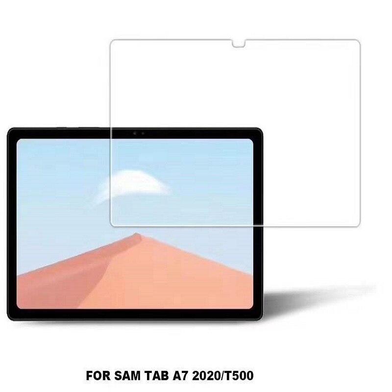 Filme de vidro temperado 9d para samsung tab a7 10.4 t500 protetor de tela para galaxy tab a7 10.4 polegada SM-T505 t507 tablet guarda