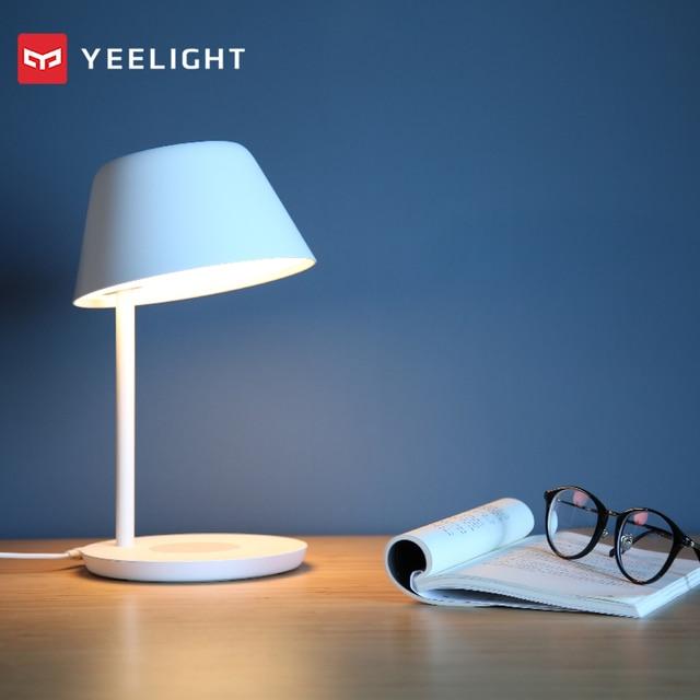 Mới 2020 Bóng Đèn Thông Minh Yeelight YLCT02YL Đèn Bàn LED 6W Để Bàn Wifi Thông Minh Cảm Ứng Âm Trần/YLCT03YL 18W Không Dây củ Sạc Để Bàn