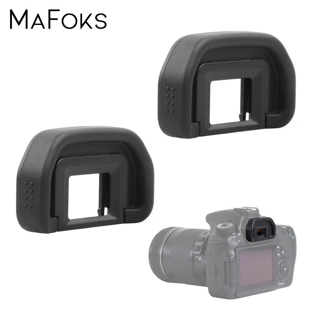 2PCS EB Eyepiece Viewfinder Eyecup Protector Replacement For Canon EOS 50D 5D Mark II 5D2 6D2 6D 70D 60D 40D 30D 20D 10D