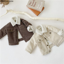 Kids Jacket For Boy Winter Lamb Wool Boys Jacket And