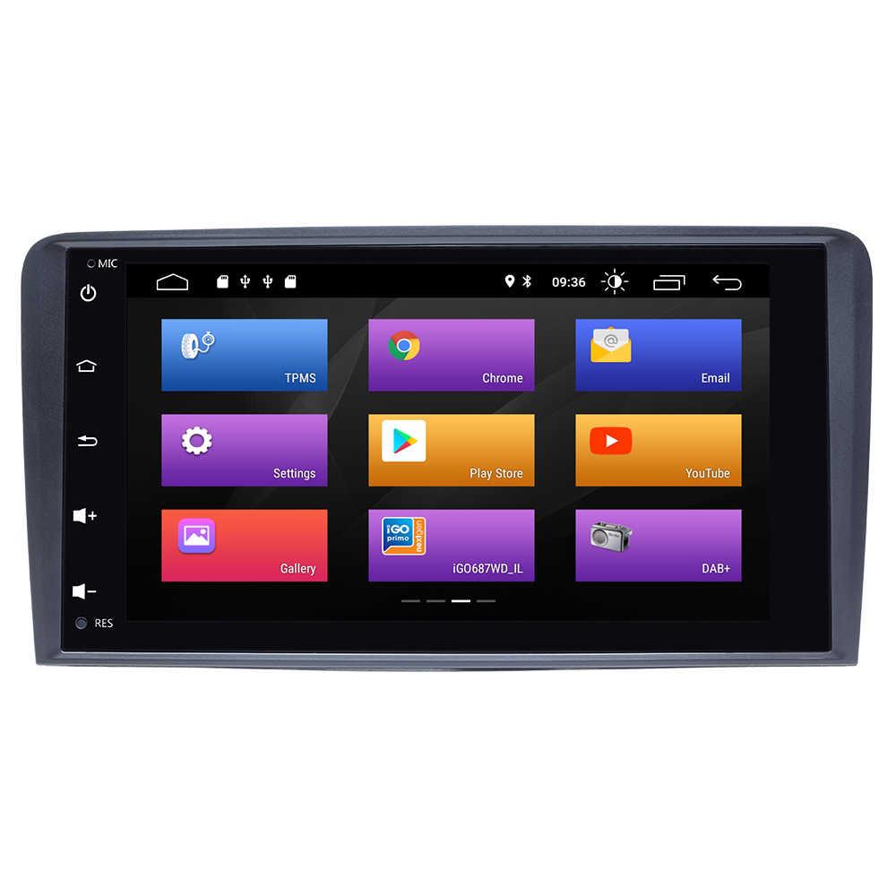 IPS DSP 2DIN Android 9 Máy Nghe Nhạc Đa Phương Tiện Đầu Đơn Vị Cho Xe Audi A3 8P S3 2003-2012 RS3 sportback Đài Phát Thanh Dẫn Đường GPS DVD Stereo