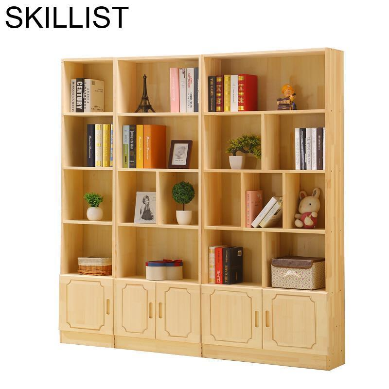 Libreria Decor Display Dekorasyon Boekenkast Mueble De Cocina Wooden Retro Decoration Furniture Bookcase Book Case Rack