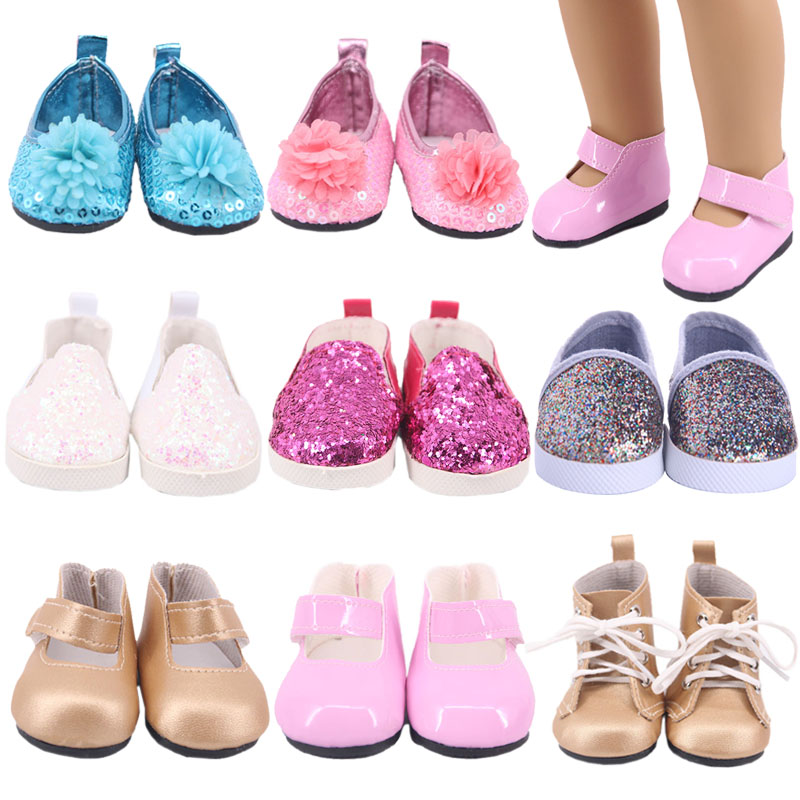 Doll Shoes Boots Sandals Fashion Accessories For 18 Inch American Doll&43 Cm Born Baby, Generation, Birthday Girl's Toy Gifts
