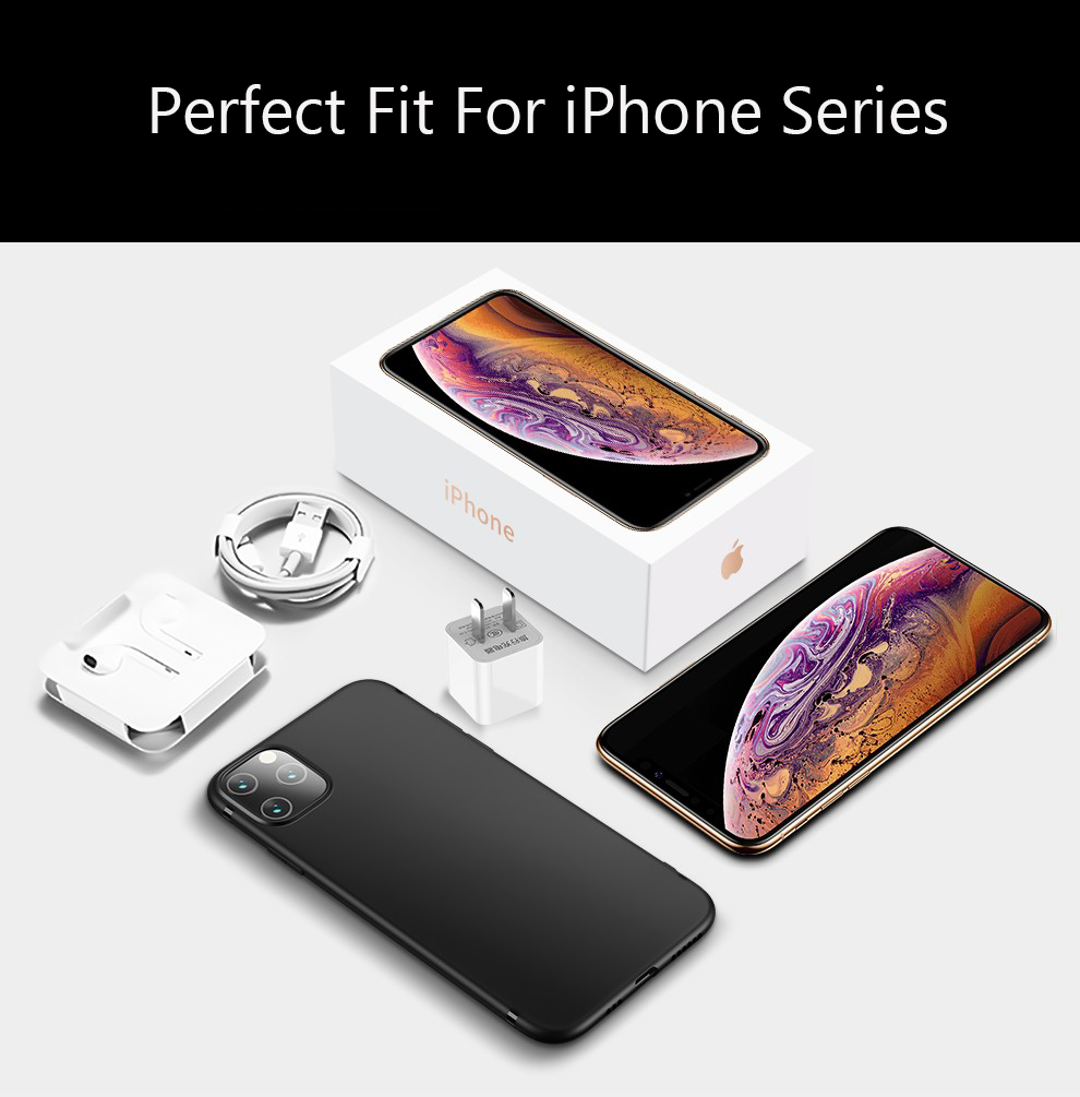 Lainergie Soft TPU Silicone Case for iPhone 11/11 Pro/11 Pro Max 9