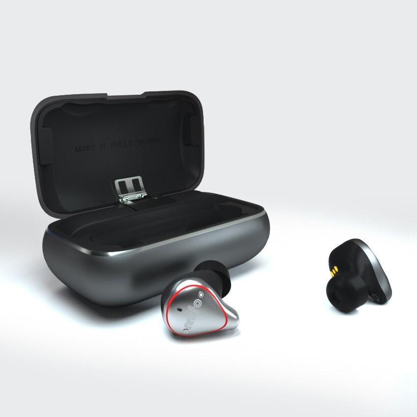 TWS earbuds mifo O5 O7 Bluetooth 5.0 Verdadeiro Som Estéreo Fones De Ouvido Fones de Ouvido Sem Fio à prova d' água Fone De Ouvido Bluetooth Esporte 3D