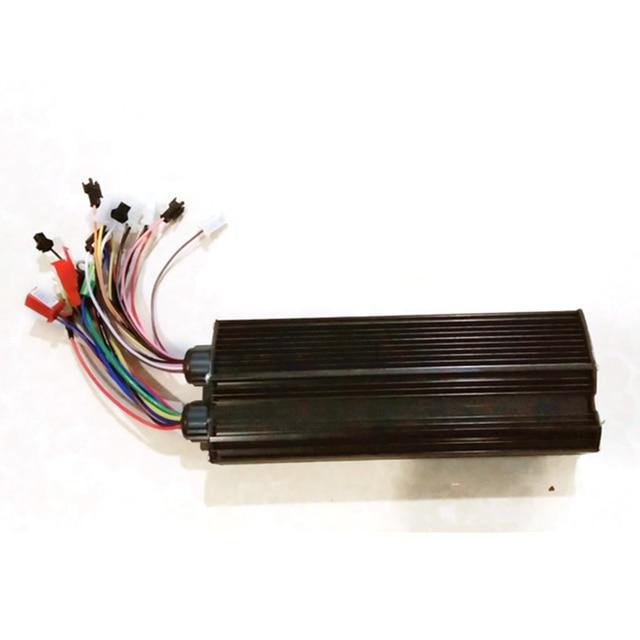 $ 36.17 48-72V 1000W Electric Brushless DC Motor Controller Dual mode Sensor/Sensorless
