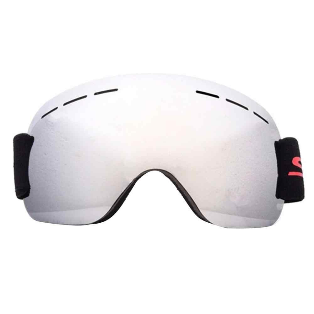 2019 kayak gözlüğü kayak maskesi erkekler kadınlar Snowboard gözlüğü gözlük kayak UV400 koruma Anti-sis kar kayak gözlükleri