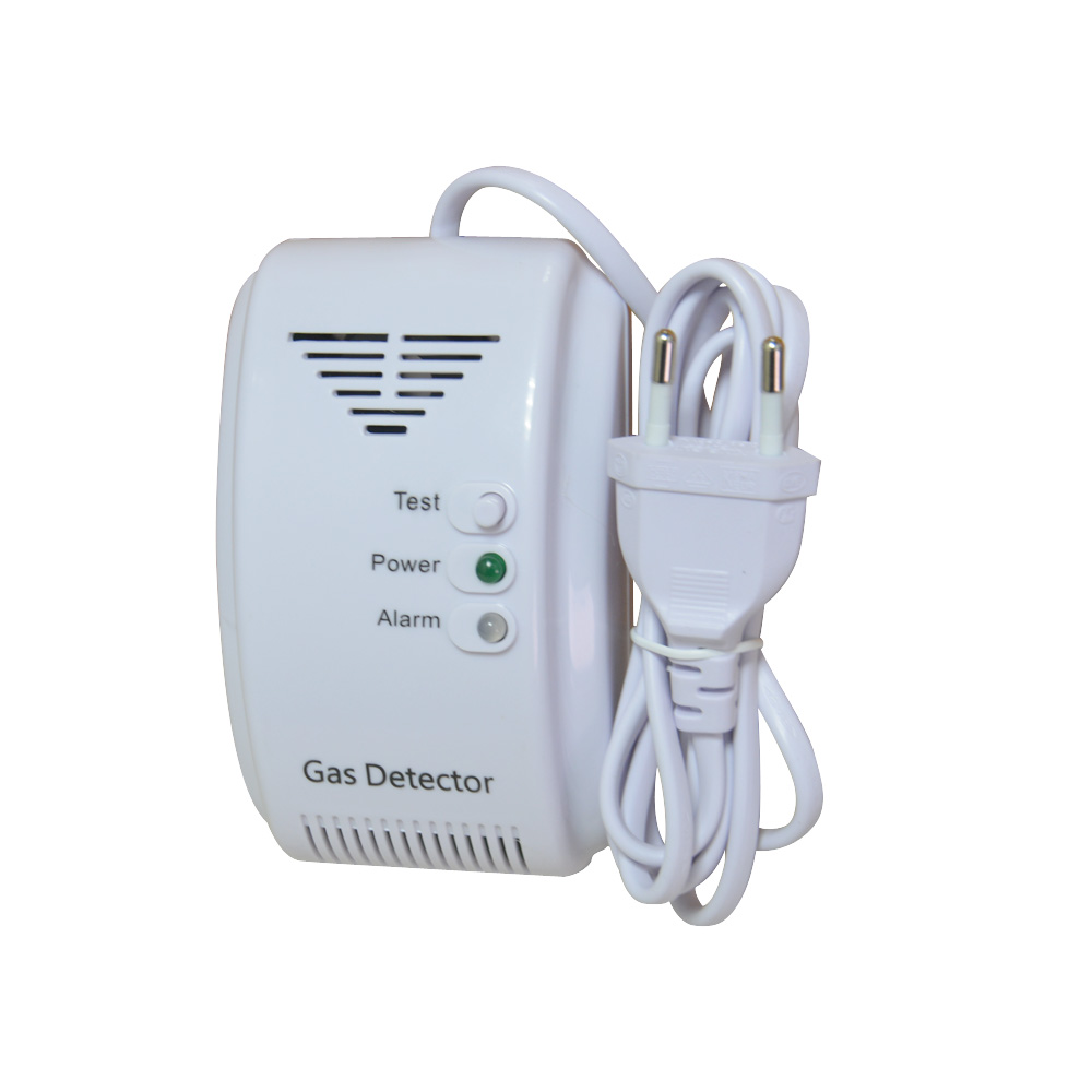 (1 PCS) 220AC Voltage Stand Alone Gas Leak Sensor Coal Gas Natural Gas LPG Leaking Detector NC NO Relay Output Can Network