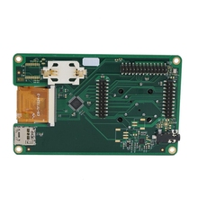 1MHz-6GHz 2.4 Inch LCD Touching Panel Portapack for HackRF One SDR Software Defined Radio hackrf one usb platform reception of signals rtl sdr software defined radio 1mhz to 6ghz software demo board kit dongle receiver