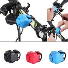 Sonnette de vélo électronique pour bicyclette, petit, sonnette de bicyclette, anneau de guidon puissant, ensemble d'alarme de batterie, klaxon électrique de bicyclette pliable pour route