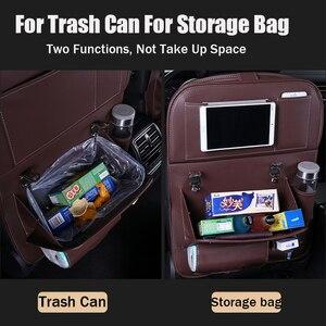 Image 2 - Organiseur multifonctionnel pour siège de voiture, organiseur pour siège arrière de voiture, sac de rangement pour voiture