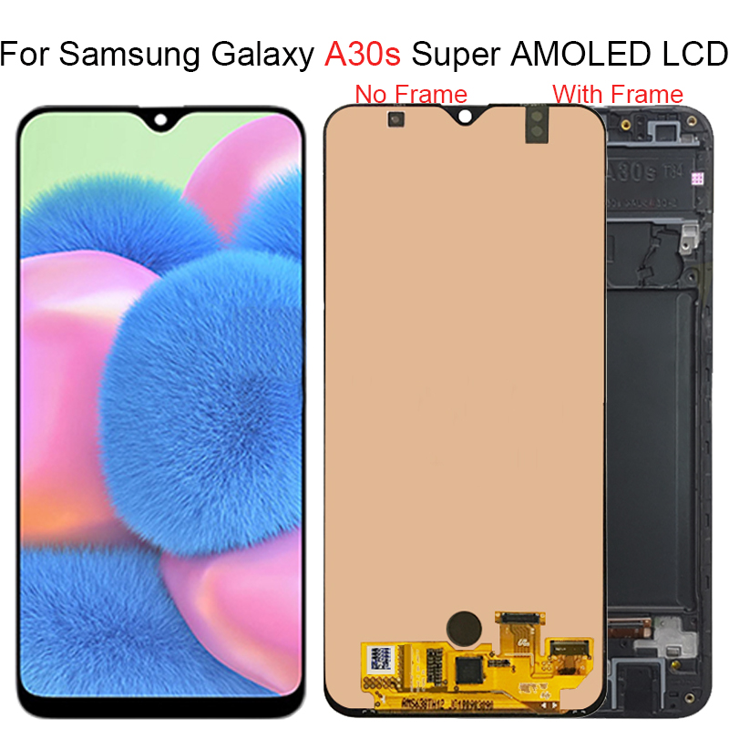 Super AMOLED For <font><b>Samsung</b></font> <font><b>Galaxy</b></font> <font><b>A30S</b></font> <font><b>LCD</b></font> Display Touch Screen Assembly For SAMUSNG A307F/DS A307FN/DS A307G/DS A307GN/DS <font><b>LCD</b></font> image