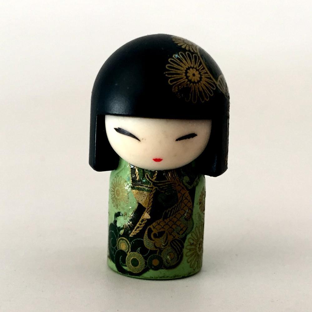 """Bonito 2 """"4cm oriental japonês quimono menina pvc mini bonecas brinquedo figura de ação tradicional brinquedos coleção crianças"""