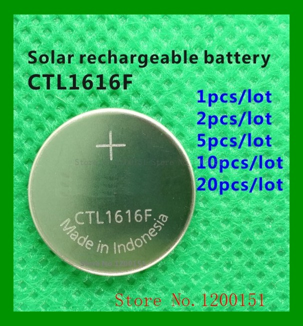 CTL1616 CTL1616F 1616 CTL Solar Rechargeable Battery