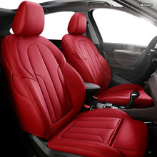 KOKOLOLEE Personalizado de Couro conjunto tampa de assento do carro Para ROEWE 550 350 360 750 950 W5 E50 E950 E550 RX5 i6 ei6 RX3 ei5 RX8 i5 assentos de carro