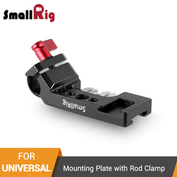 SmallRig Mini Mounting Plate with 15mm Rod Clamp For 5'' or 7'' Monitor/Flashlight/Microphone/Articulating Arm-1906